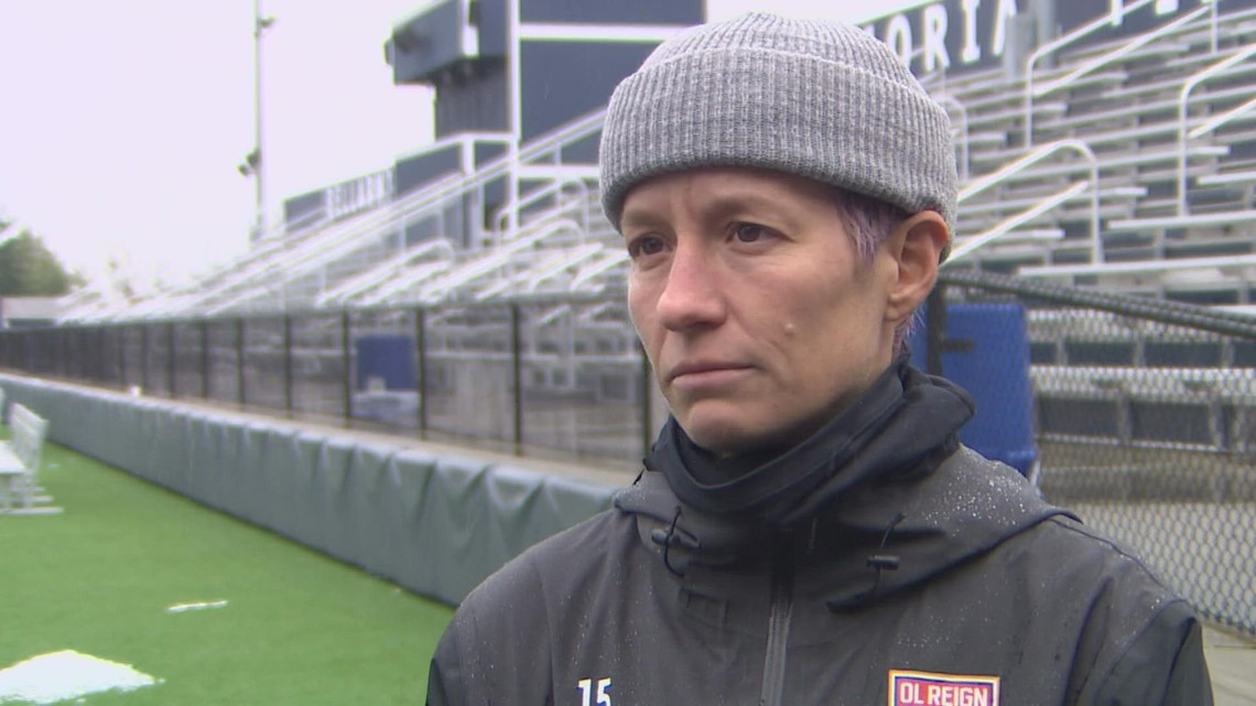 OL Reign's Megan Rapinoe speaks about allegations of sexual harassment in the NWSL