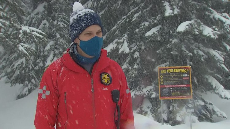 'Are you beeping?' Avalanche program aims to save lives in the Cascades