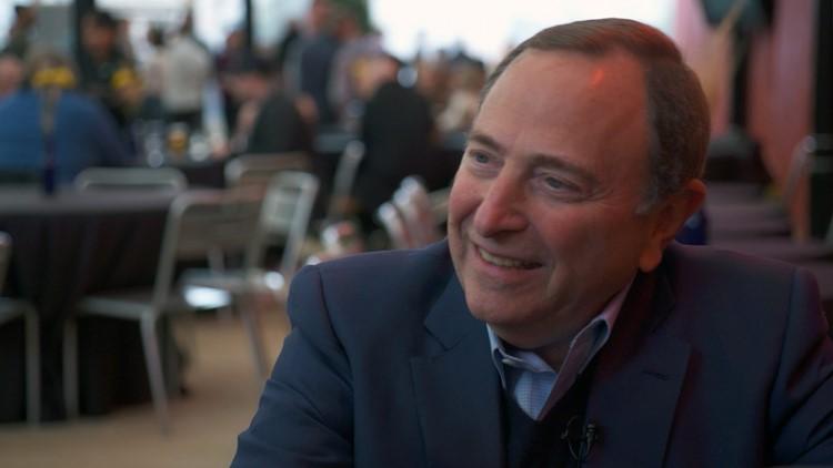Drinks with Daniels: NHL Commissioner Gary Bettman