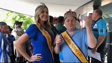 Dodgeball, dogs in beds, and deodorant: Seafair's King Neptune and Queen Alcyone weigh in
