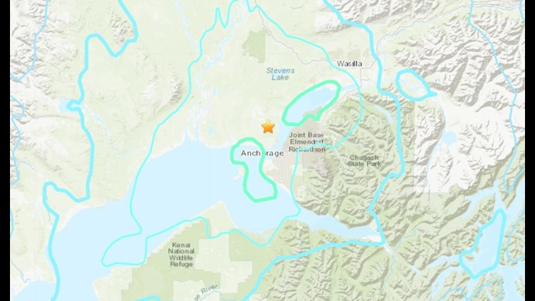 Quake rattles Alaska's largest city, no reports of damage