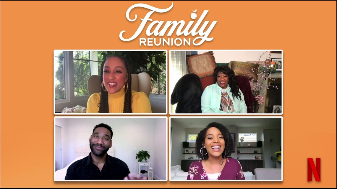 Tia Mowry and Loretta Devine gear up for Part 3 of hit Netflix show 'Family Reunion'