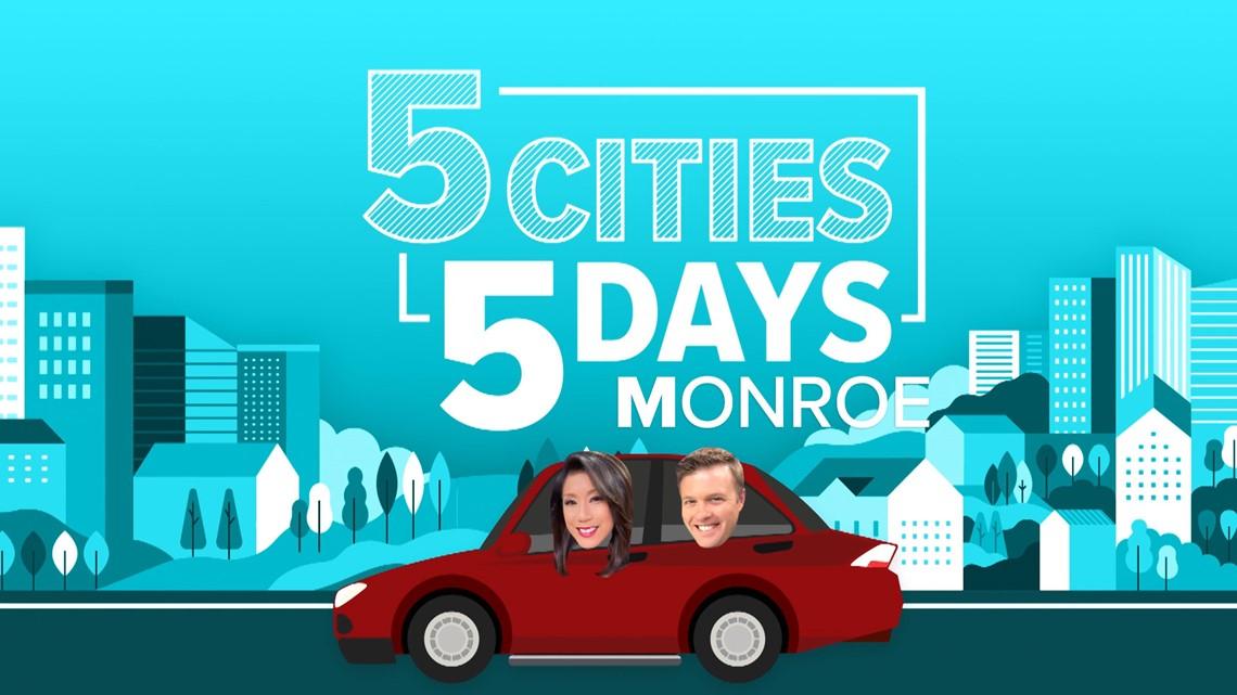 5 Cities, 5 Days: Monroe