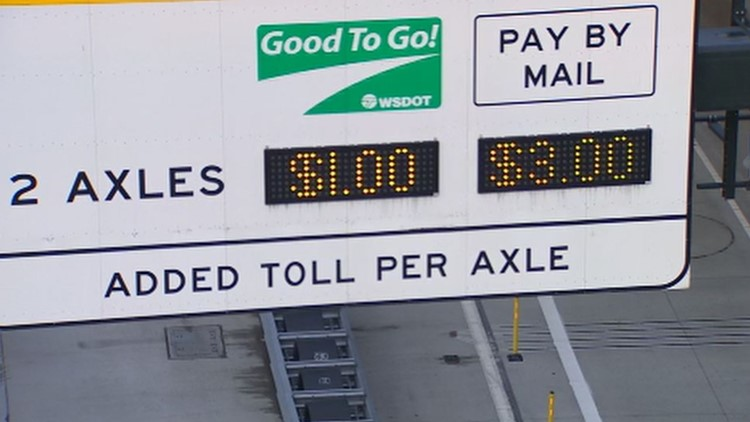 Seattle tunnel use down 26% during weekdays after tolling begins