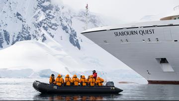 Explore destinations like Antarctica, the Amazon, and Alaska by luxury cruise ship, Zodiac, and kayak