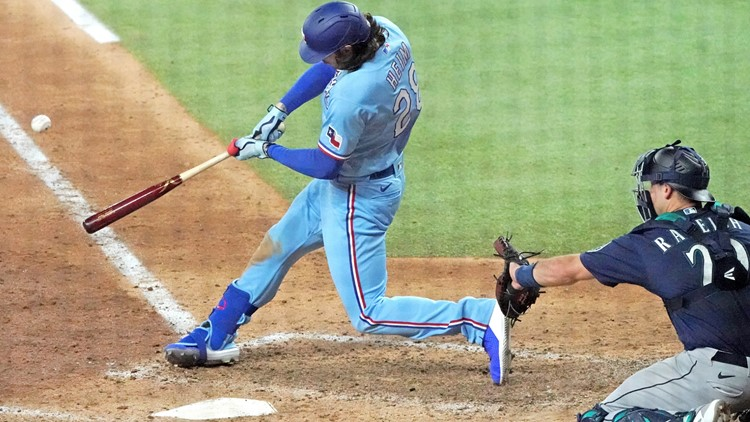 Heim hits another walk-off, Rangers rally past Mariners 4-3