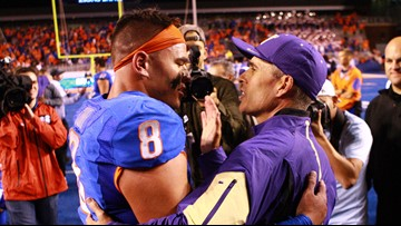 Final game for UW football coach Chris Petersen will be against his former team Boise State in the Las Vegas Bowl