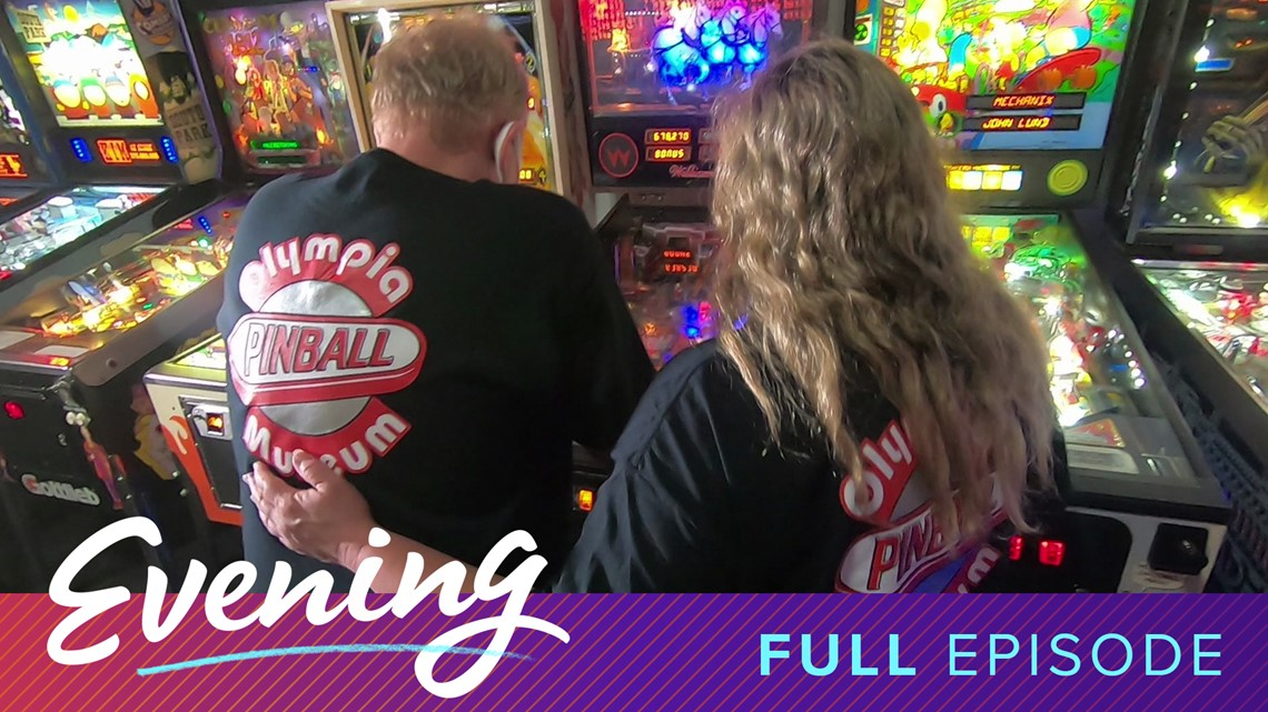 Olympia Pinball Museum and Cooper's Food and Drink in Tacoma | Full Episode - KING 5's Evening