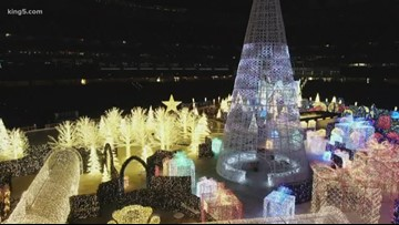 Take a behind the scenes look at Seattle's winter wonderland Enchant