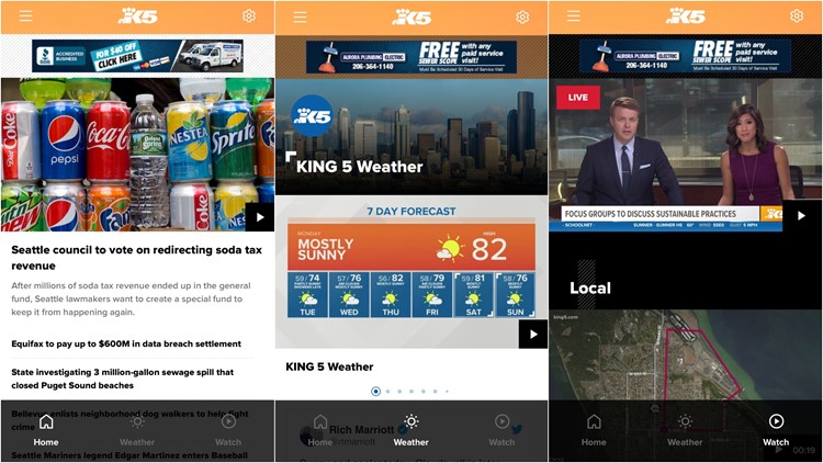 KING 5 has a new app, download it here