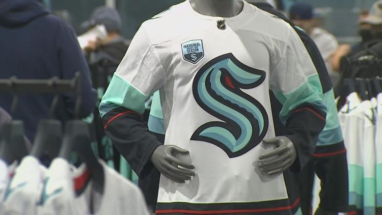 Fans get their hands on the first official Seattle Kraken jerseys