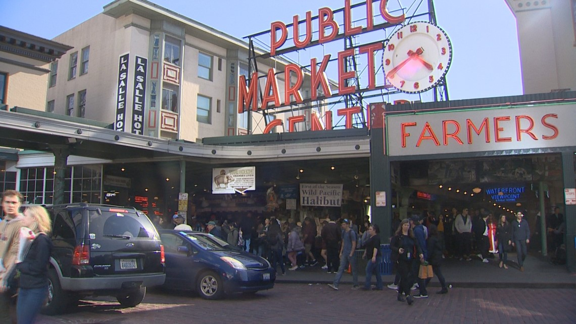 Brandi Carlile, Dave Grohl play surprise concert at Pike Place Market