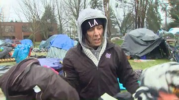 Tent ban enforcement begins in Tacoma