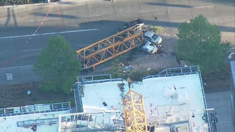 Seattle police release photos, 911 calls from April's deadly crane collapse
