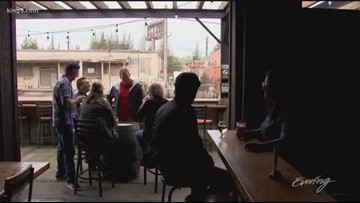 The Woods at Two Beers Brewing Co. serves handcrafted brews, ciders and even seltzer - KING 5 Evening