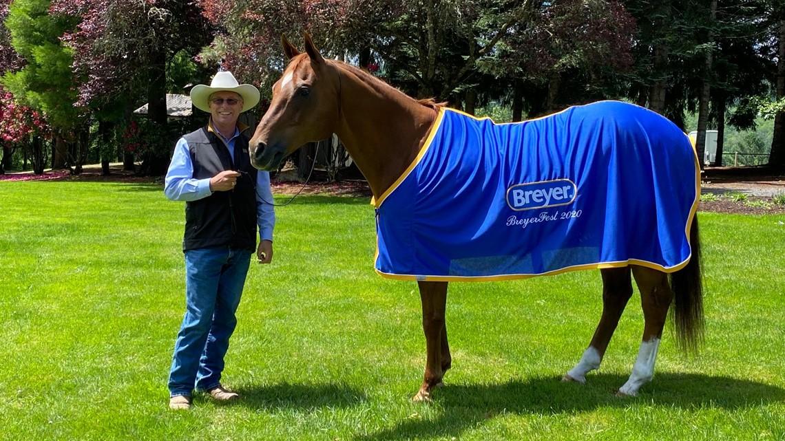 Washington Fantasy Horse Earns The Ultimate Honor From Model Maker Breyer King5 Com