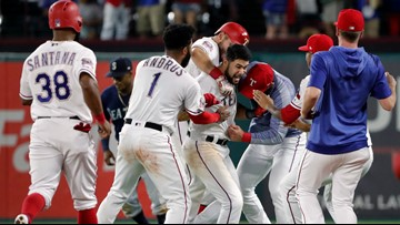 Kiner-Falefa hits walk-off single, Rangers beat Mariners 3-2