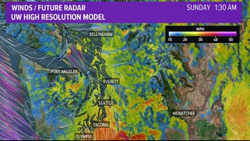 Washington State Interactive Radar On King5 In Seattle