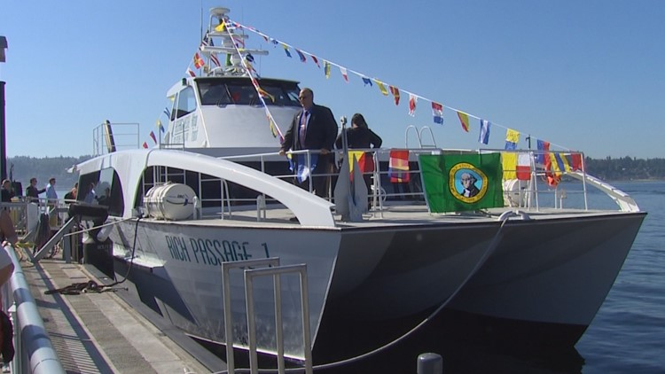 Fast ferry service between Tacoma and Seattle 'feasible,' study says