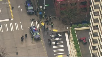 Seattle police investigate officer-involved shooting in Belltown