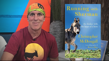 Author Chris McDougall's new book 'Running with Sherman'