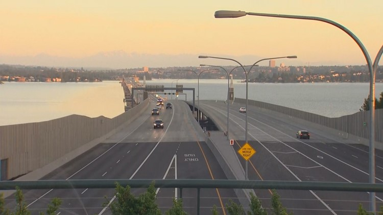 3-year lane closure on SR 520 likely to cause additional delays