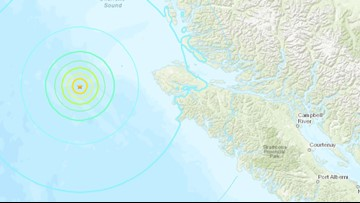6.3 magnitude earthquake reported off Vancouver Island a day after quake swarm