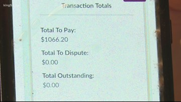 Seattle woman questions $1066 toll bill that led to expired tabs