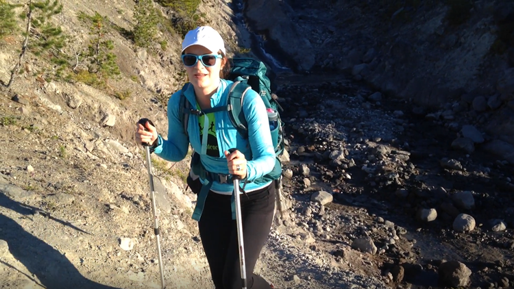 Hiking Mount Saint Helens