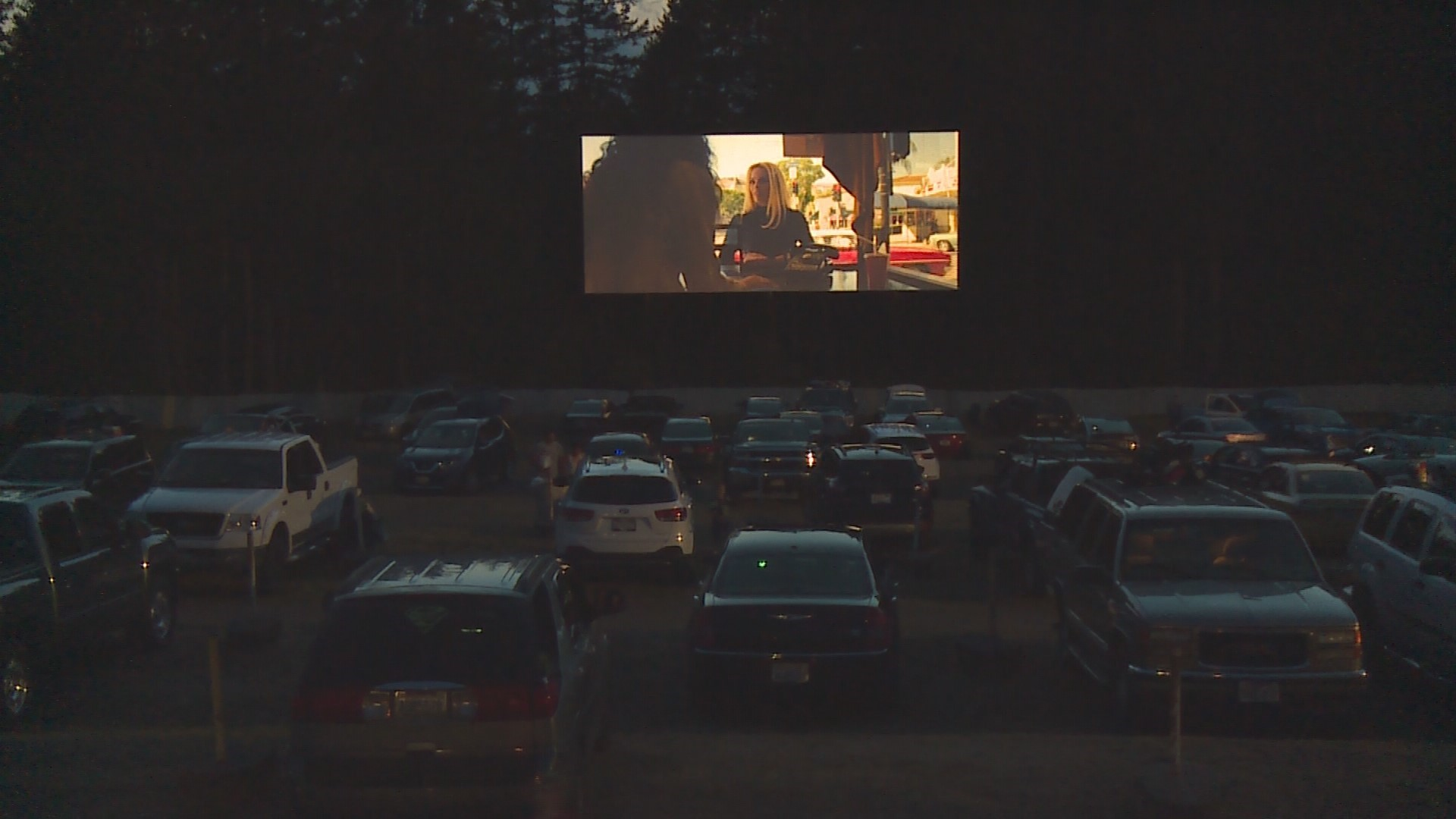 This 70 Year Old Drive In Theater In Bremerton Still Wows Crowds Every Summer King5 Com
