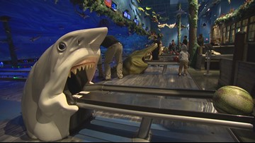 Underwater bowling and neon drinks at Uncle Buck's Fishbowl & Grill in Tacoma - KING 5 Evening