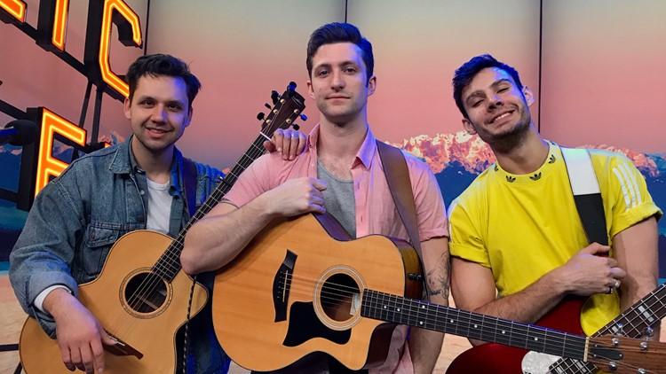 "Live In-Studio: Public performs viral TikTok song ""Make You Mine"""