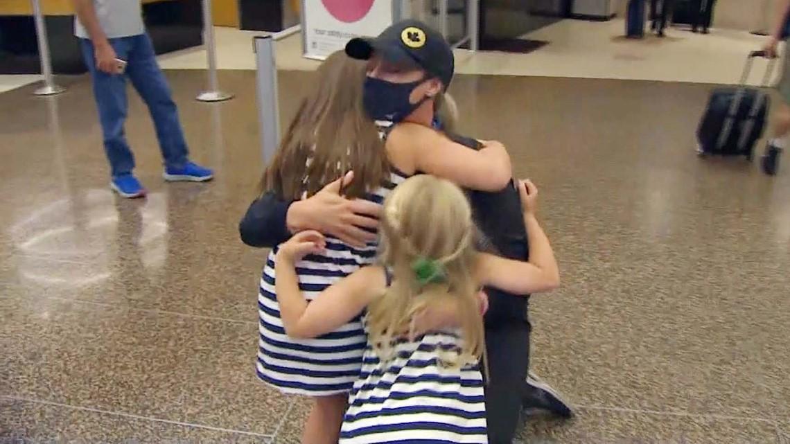 Danielle Lawrie arrives home after winning softball bronze at Tokyo Olympics