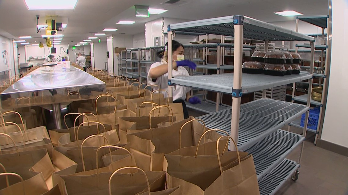 Expedia Group opens empty kitchen to feed families in need across Puget Sound
