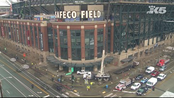Mariners fans can bid to buy pieces of the old Safeco Field