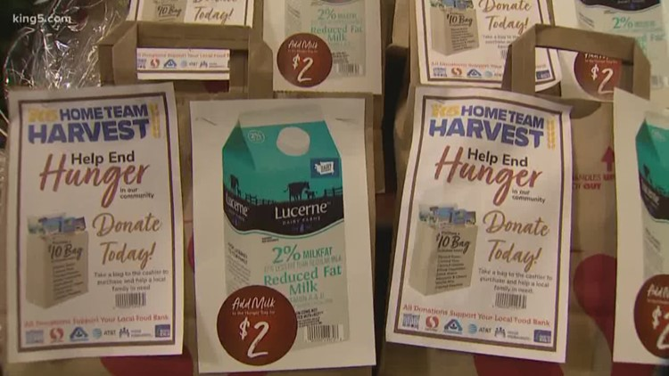 Help end hunger this holiday season with Home Team Harvest Hunger Bags