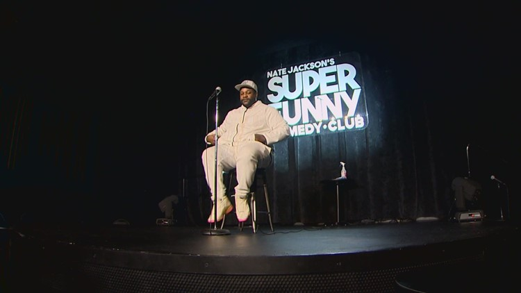 Comedians back on stage in Tacoma after months of shutdowns