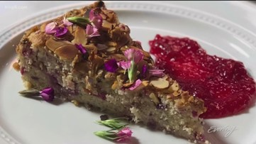 Make your Easter brunch complete with this rhubarb cake - Recipe from Makini's Kitchen - KING 5 Evening