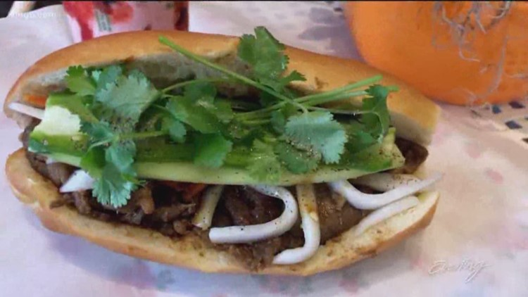 Find delicious $5 banh mi in West Seattle - Cheap Eats - KING 5 Evening
