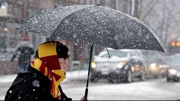 Snow flurries seen Friday morning throughout western Washington