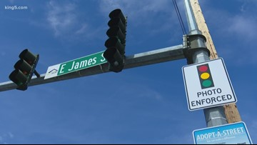 Red light cameras coming to 6 intersections in Kent