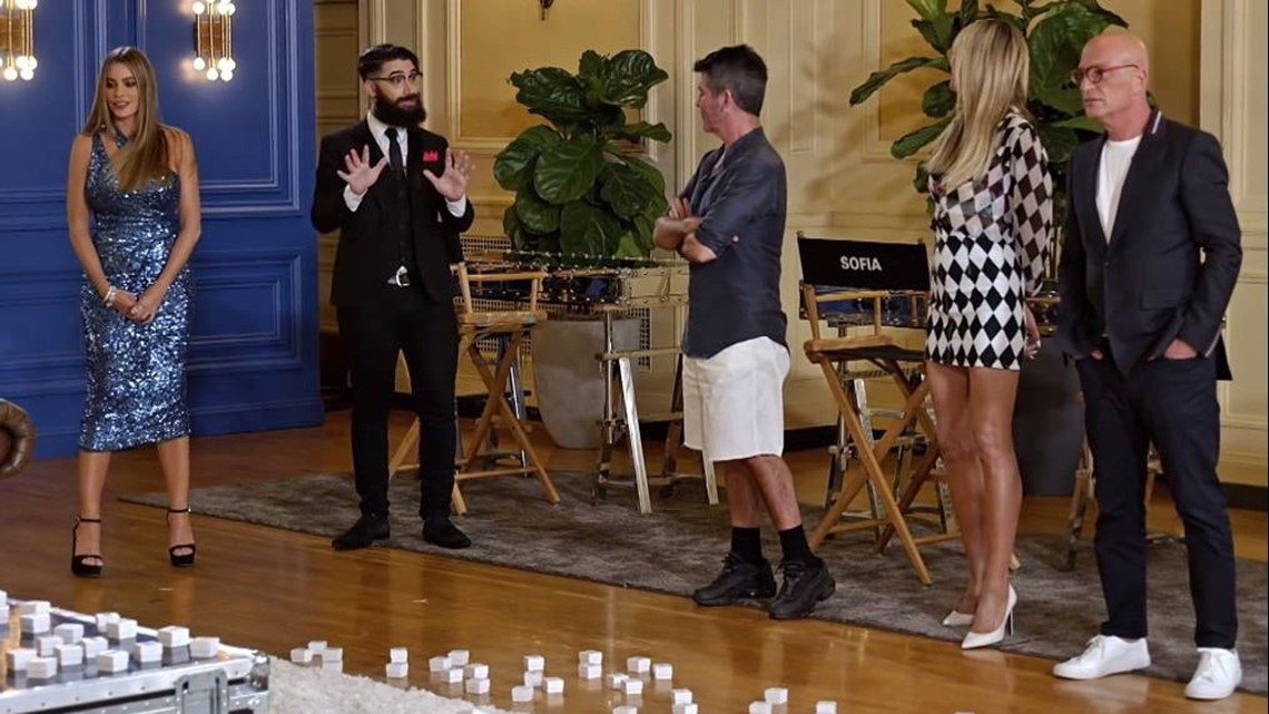 Seattle resident Peter Antoniou wows judges on 'America's Got Talent'