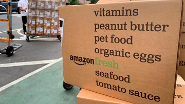 Amazon Fresh fee dropped to boost grocery delivery sales