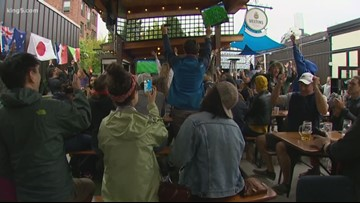 Seattle soccer fans celebrate US women's team and the pitch for equality