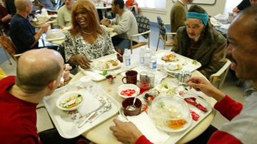 The first emergency homeless shelter serving people with HIV