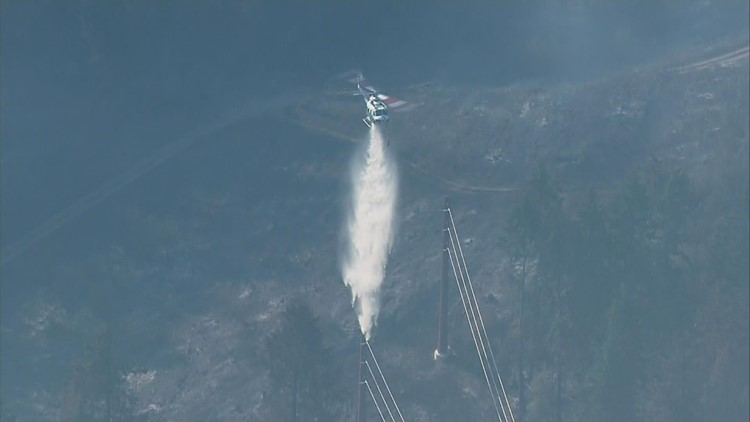 Western Washington fire crews get new firefighting base