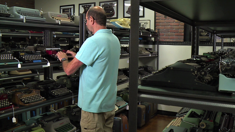 Bremerton's one-stop shop for typewriter enthusiasts