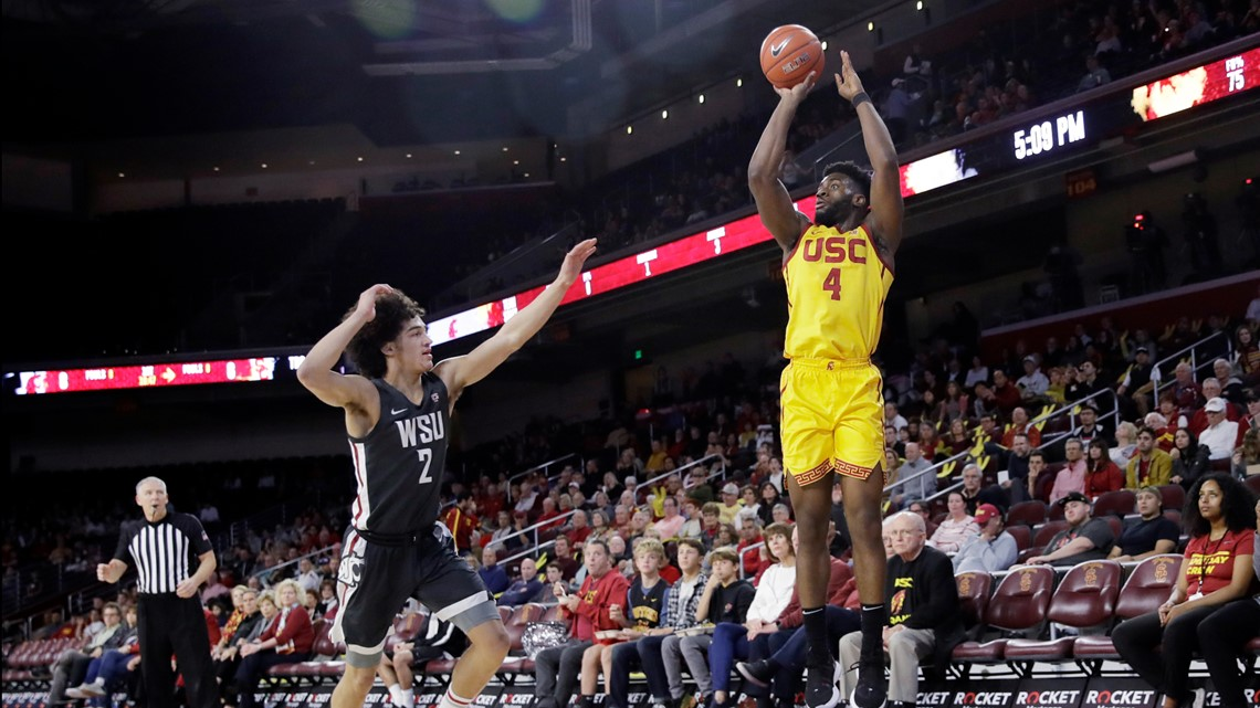 Utomi lifts USC to 70-51 victory over Washington State