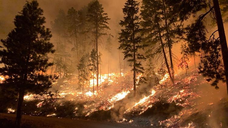 Evacuations dropped near Schneider Springs 'megafire' in Yakima