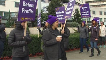Strike continues for medical workers